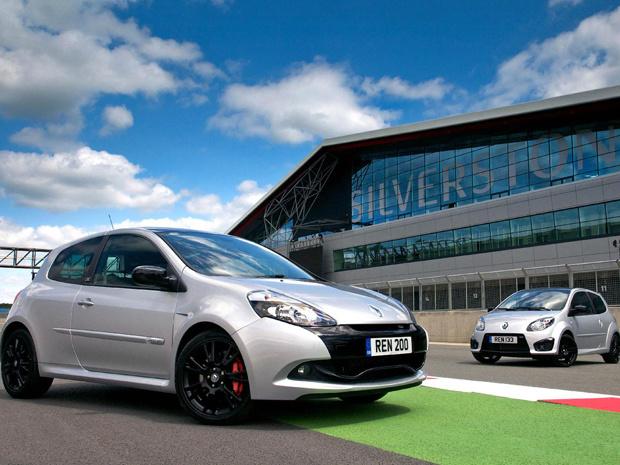 Clio e Twingo ganham série limitada 'Silverstone GP' - Crédito: Foto: Divulgação