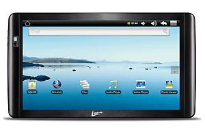 """Tablet LeaderPad Cool, da Leadership tem 10,1"""" e resolução de 1024 x 600 pixels - Crédito: Foto: Divulgação"""