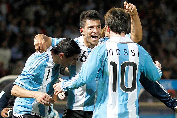 Di María, Agüero e Messi: os nomes da vitória da tranquila Argentina sobre a Costa Rica - Crédito: Foto: Reuters