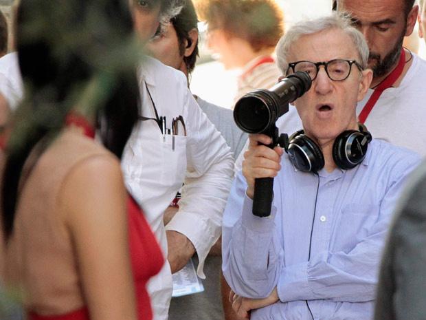 Woody Allen começou a rodar seu novo longa nesta segunda em Roma - Crédito: Foto: Alessandro Bianchi/Reuters