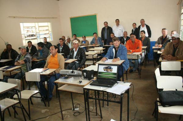 Prefeitura promoveu curso de atualização para seus motoristas - Crédito: Foto: Paulo César