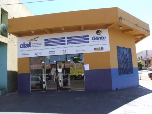 CIAT de Ivinhema também oferece cursos de qualificação gratuitos - Crédito: Foto: Paulo César