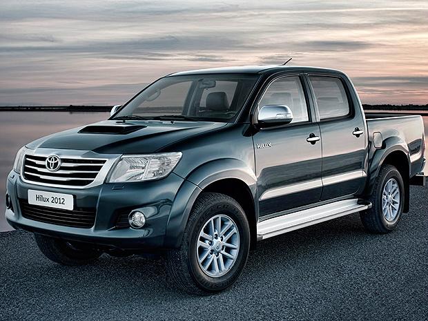 Toyota Hilux 2012 ganhou nova grade e conjunto óptico inédito - Crédito: Foto: Divulgação
