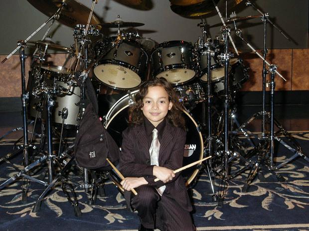 O jovem americano Julian Pavone, de sete anos, foi anunciado nesta terça-feira - Crédito: Foto: AP