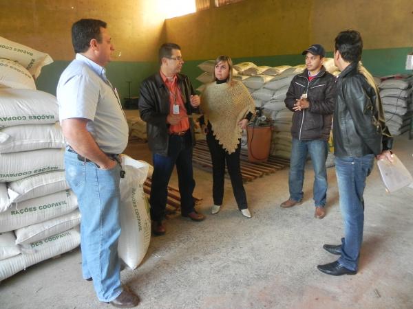 IFMS se reúne com cooperativa de Nova Andradina para discutir parceria - Crédito: Foto : Divulgação