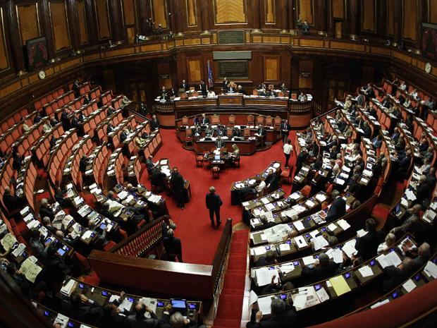Senado italiano durante votação do pacote de corte de gastos contra déficit público - Crédito: Foto: Reuters