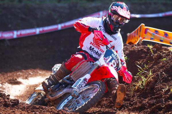 Pilotos Honda buscam primeira vitória no Campeonato Brasileiro de Motocross  -