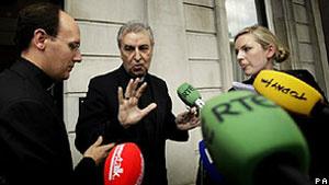Arcebispo Giuseppe Leanza se reuniu com ministro do Exterior irlandês - Crédito: Foto: PA