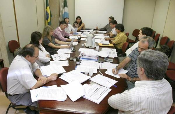 Senador Delcídio e governador André Puccinelli durante encontro em Brasília - Crédito: Foto: Divulgação