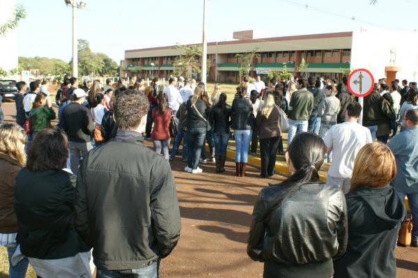 Greve dos administrativos podem ser retomada na UFGD e HU - Crédito: Foto: Hédio Fazan/PROGRESSO