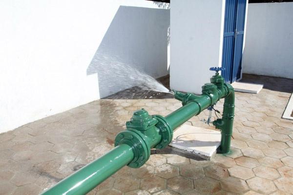 Sanesul solucionam o problema de falta de água na Campina Verde - Crédito: Foto: Divulgação