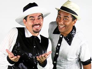 Dupla apresentará espetáculo 'Preto no Branco'  - Crédito: Foto: Assessoria
