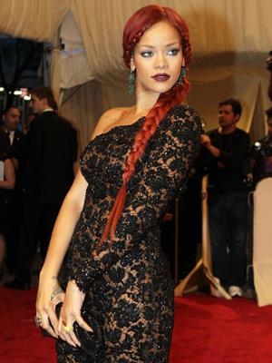 Rihanna no baile de gala do Metropolitan Museum, em Nova York. - Crédito: Foto: AP