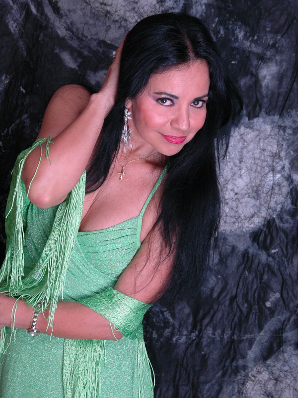 A cantora paraguaia Perla - Crédito: Foto: Divulgação