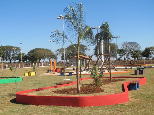 Praça Parque dos Ipês em Itaporã deve ser inaugurada no dia 5 de agosto - Crédito: Foto : Divulgação