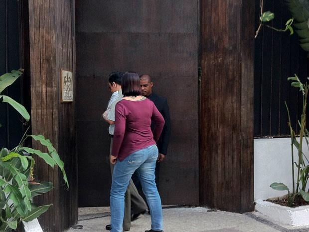 Hotel em Santa Teresa que foi assaltado durante a madrugada desta segunda - Crédito: Foto: Thamine Leta/G1