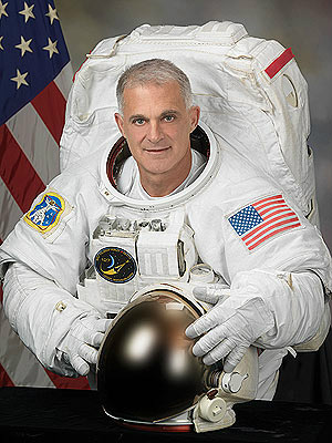 David Wolf, em foto oficial da Nasa - Crédito: Foto: Nasa