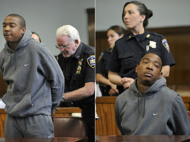 O rapper Ja Rule na Suprema Corte de Manhattan onde recebeu a setença de dois anos de prisão no dia 8 de junho deste ano - Crédito: Foto: Reuters