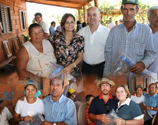 Comunidades rurais receberam cobertores no último final de semana - Crédito: Foto : Natalho Cuer