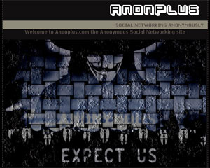 Anonymous criou rede social em resposta ao Google+, que barrou entrada do grupo na rede - Crédito: Foto: Reprodução