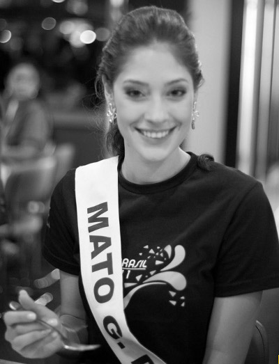 Miss MS, Raiza Vidal, de 22 anos, se prepara para a disputa do Miss Brasil 2011 - Crédito: Foto: Divulgação/Miss Brasil