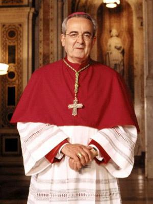 O arcebispo Justin Rigali em foto não datada - Crédito: Foto: AFP