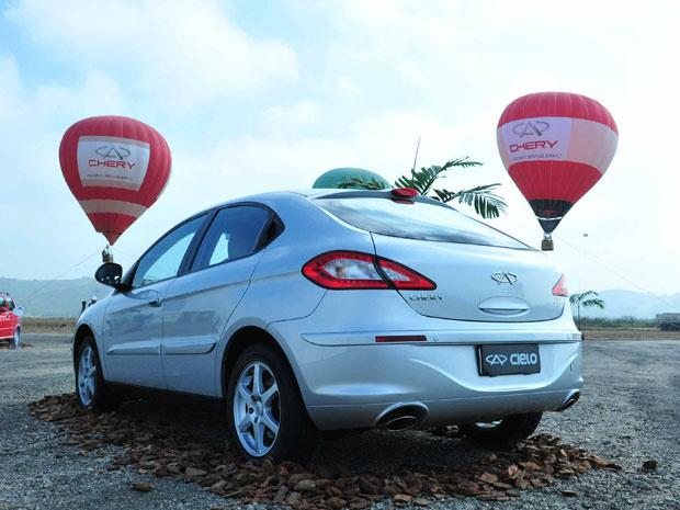 A13 será o primeiro modelo da Chery a ser produzido no Brasil - Crédito: Foto: Priscila Dal Poggetto/G1