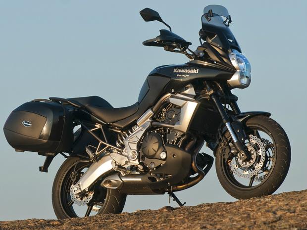 Kawasaki Versys Tourer custa R$ 35.990 na versão com freios ABS - Crédito: Foto: Divulgação
