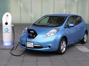 Nissan Leaf, lançado em dezembro nos EUA  - Crédito: Foto: Divulgação