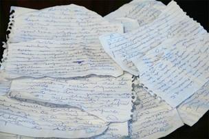 Dona de casa guarda manuscritos com ameaças  - Crédito: Foto: PC de Souza/edicaoms.com.br