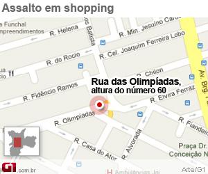 Dois morrem baleados perto de shopping na Vila Olímpia, em SP -