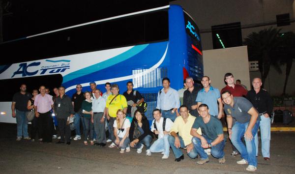 Comitiva de Mato Grosso do Sul embarcou na última 3ª feira para São Paulo - Crédito: Foto: Divulgação