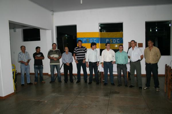 Diretório Municipal do PSDC foi eleito e empossado na última sexta-feira - Crédito: Foto: Upiran Gonçalves