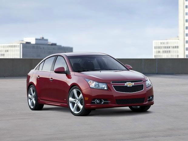 Chevrolet Cruze foi um dos responsável pelo recorde de vendas - Crédito: Foto: Divulgação