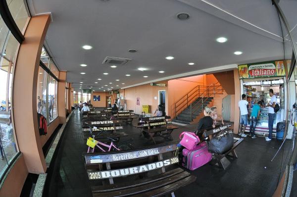 Mudanças já podem ser visualizadas no Terminal Rodoviário Renato Lemes Soares. - Crédito: Foto: A. Frota