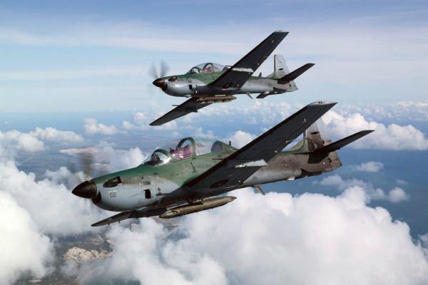 Força Aérea Brasileira interceptou aeronave sem plano de voo. - Crédito: Foto: Ilustração