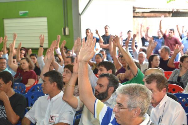 Depois de 20 dias em greve bancários decidem encerrar a greve. - Crédito: Foto: Marcos Ribeiro