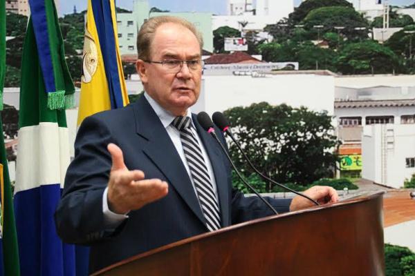 Vereador Idenor Machado pede por distrito de Dourados. - Crédito: Foto: Divulgação