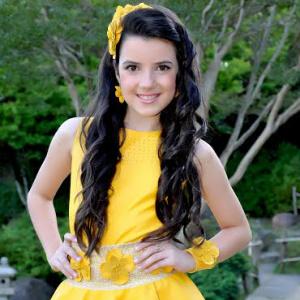 Marinna Vedana foi campeã na categoria juvenil do Miss Face The World 2014. - Crédito: Foto: Divulgação