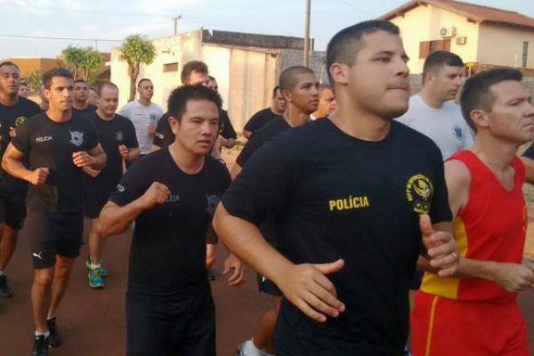 Curso vai formar mais 35 policiais para atuarem na fronteira, no combate ao tráfico de drogas e armas, contrabando, descaminho e outros. - Crédito: Foto: Divulgação