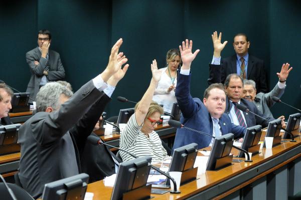 Comissão Especial da Demarcação de Terras Indígenas durante reunião ordinária na terça-feira. - Crédito: Foto: Luis Macedo/Câmara dos Deputados
