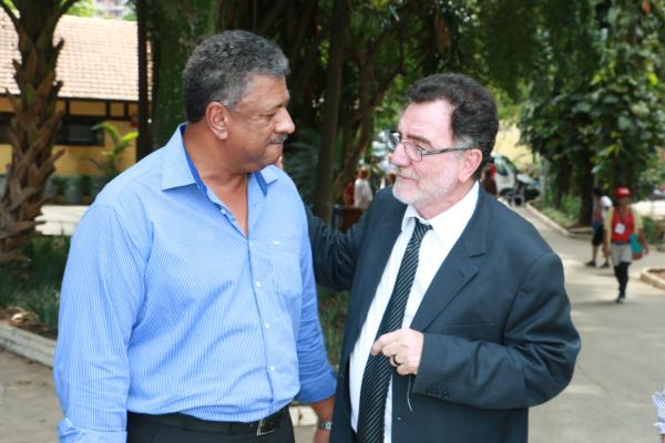 Deputado João Grandão e o Ministro  Patrus Ananias. - Crédito: Foto:  Rubens Neto