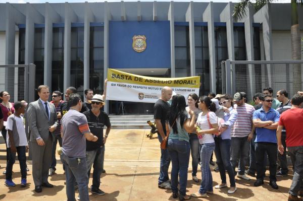 Dourados foi escolhido como sede em Mato Grosso do Sul para lançamento de campanha contra assédio a policiais federais, disse Sinpef. - Crédito: Foto: Hedio Fazan