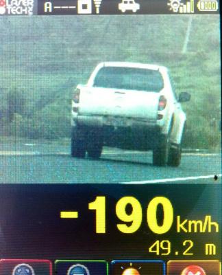 Na fiscalização do fim de semana de feriado, a PRF flagrou abusos absurdos de velocidade nas BR's. - Crédito: Foto: Divulgação
