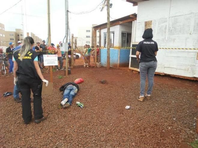 Interno do semiaberto foi assassinado a tiros em Dourados. - Crédito: Foto: Cido Costa/DouradosAgora