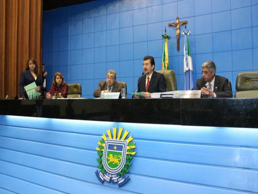 Foram aprovados seis projetos de lei. - Crédito: Foto: Giuliano Lopes