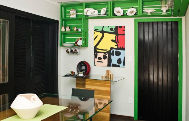 Sala de Chá da Unigran Decor na casa localizada a rua Izzat Bussuan, nº  2000, na Vila Progresso. - Crédito: Foto: Divulgação