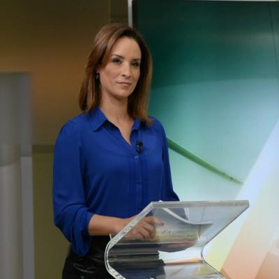 Jornalista é repórter do Jornal Hoje e entrega prêmio hoje, em Campo Grande. - Crédito: Divulgação