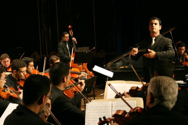 Orquestra Sinfônica Municipal de Campo Grande é uma das atrações da 9ª edição do Encontro da Música Clássica. - Crédito: Foto: Divulgação