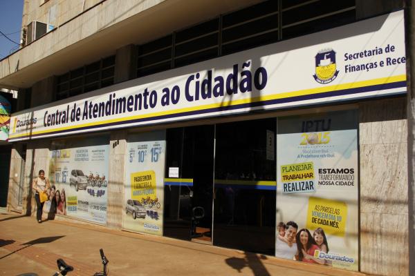 Contribuinte deve procurar a Central do Cidadão. - Crédito: Foto: Divulgação